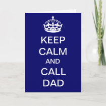 Dad to the Rescue Card
