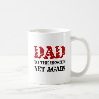 Dad To The Rescue Coffee Mug