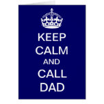Dad to the Rescue Greeting Card