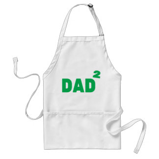 Dad to the Second Power Adult Apron