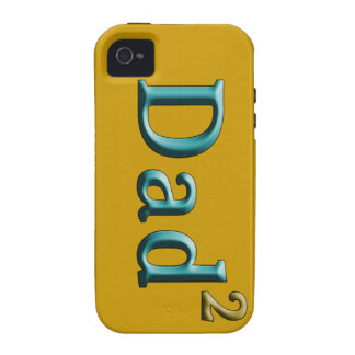 Dad to the Second Power Father's Day Gifts iPhone 4/4S Cases