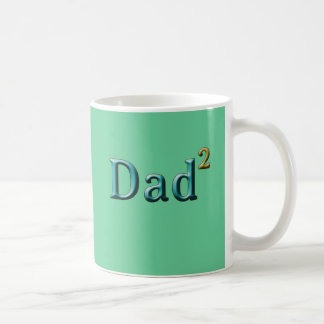 Dad to the Second Power Father's Day Gifts Coffee Mug