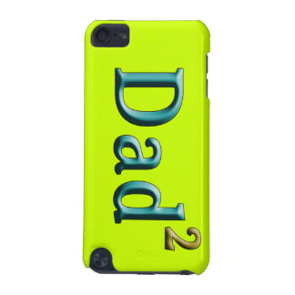 Dad to the Second Power Father's Day Gifts iPod Touch 5G Cover
