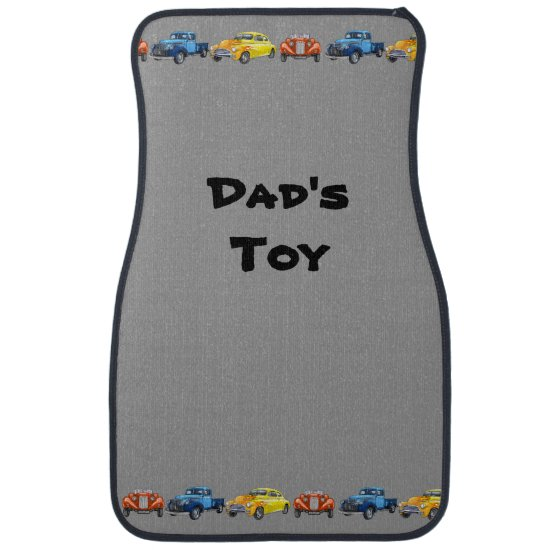 Dad' Toy Vintage Cars Floor Mats