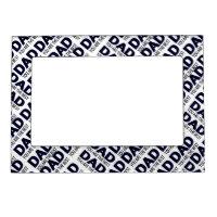 Dad Typography 5x7 Designer Magnetic Frame