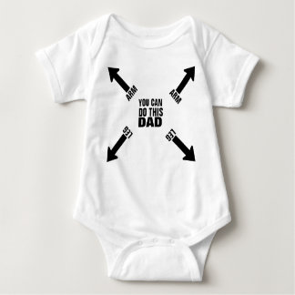 DAD U CAN Infant Creeper