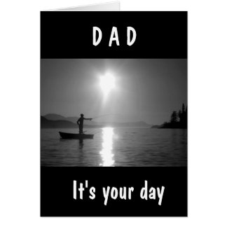 ****DAD*** U MAKE EVERYDAY HAPPY-BIRTHDAY LOVE CARD
