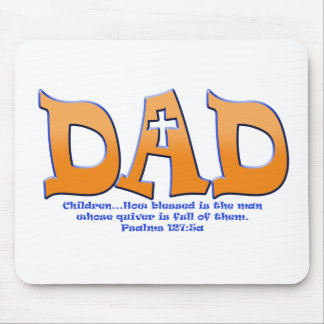 Dad_verse.png Mouse Pad