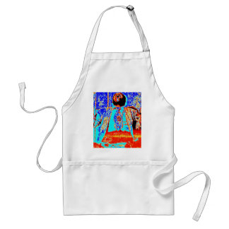 Dad was a Drummer Adult Apron