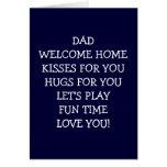 DAD-WELCOME SE DIRIGEN CON BESOS FELICITACIONES