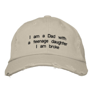 "DAD WITH A ""DAUGHER"" BASEBALL CAP OR HAT"
