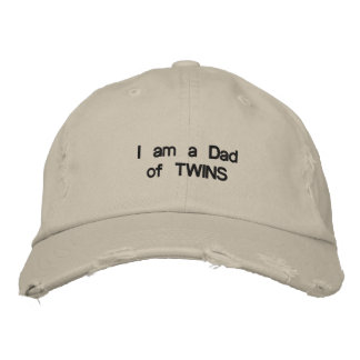 DAD WITH ****TWINS*** CAP OR HAT