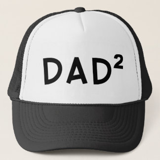 Dad x 2 trucker hat