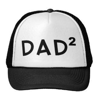 Dad x 2 trucker hat
