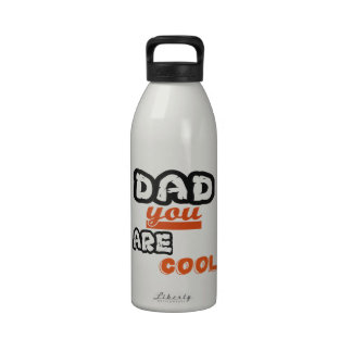Dad You Are Cool Water Bottle