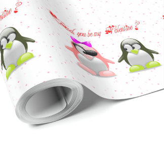 Dad, you be my Valentine ? Wrapping Paper