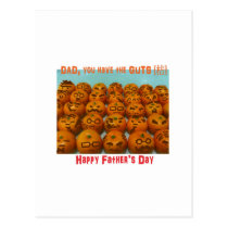 Dad, you have the GUTS - Father's Day Gift Postcard
