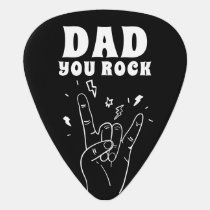 Dad You Rock | Father's Day Photo Guitar Pick