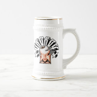 daDA04 fleshed out (Mug) 18 Oz Beer Stein
