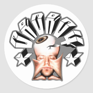 daDA04 fleshed out (stickers) Classic Round Sticker