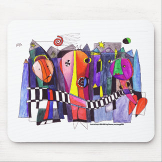 Dada Art Party Mousepad