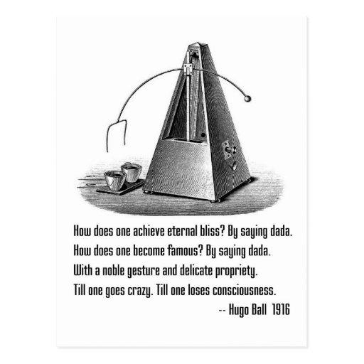 Dada Defined Post Card