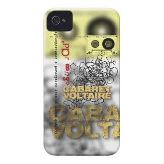 dada del club - voltaire del cabaret Case-Mate iPhone 4 protectores