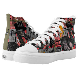 Dada Dodos High-Top Sneakers