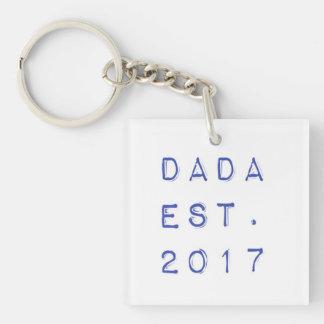 Dada EST. 2017 Keychain