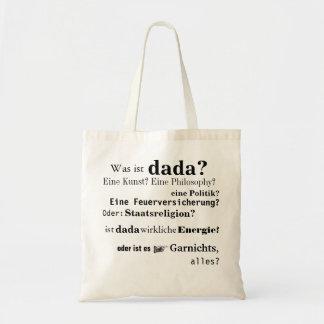 Dada Tote Bag