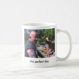 dadandtina, the perfect day coffee mug