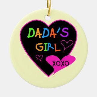Dada's Girl T-Shirt, Mug, Button, Magnet, More Ceramic Ornament