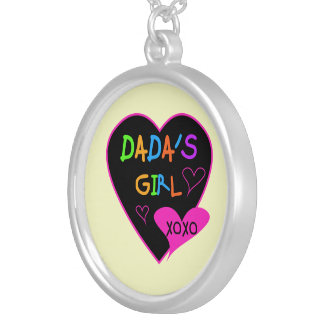 Dada's Girl T-Shirt, Mug, Button, Magnet, More Silver Plated Necklace