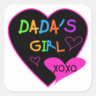 Dada's Girl T-Shirt, Mug, Button, Magnet, More Square Sticker