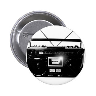 Dadawan Ghettoblaster boombox 1980 Buttons