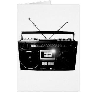 Dadawan Ghettoblaster boombox 1980 Card