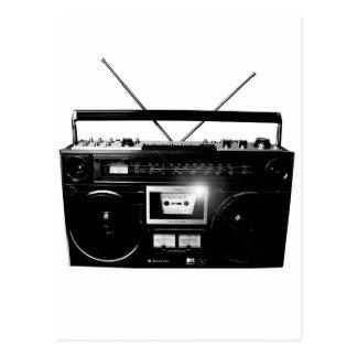 Dadawan Ghettoblaster boombox 1980 Postcard