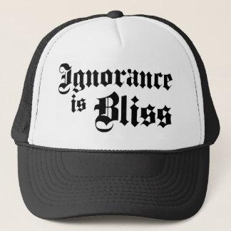 Dadawan Ignorance is bliss Trucker Hat