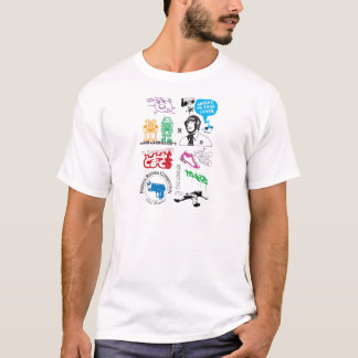 Dadawan mash up pop icons T-Shirt