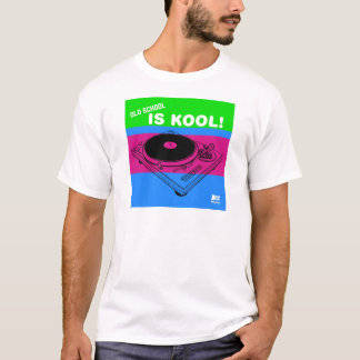 Dadawan Old school is kool  vynil deck T-Shirt