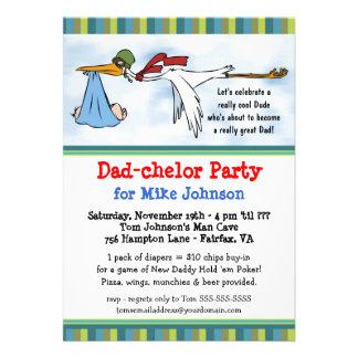 Dadchelor - nuevas invitaciones lindas del fiesta  comunicados personales
