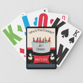 Dadchelor Party Favor Playing Cards