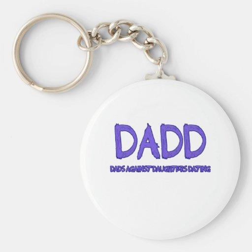 DADD BASIC ROUND BUTTON KEYCHAIN
