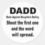 DADD CLASSIC ROUND STICKER