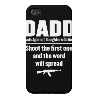 dadd - dads against daughters dating funny iPhone 4 cover