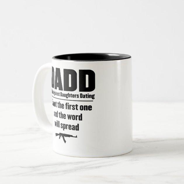 Dads against daughters hookup coffee mug