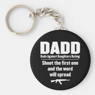 dadd - papás contra fechar de las hijas divertido llavero