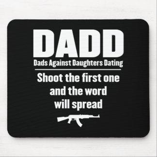 dadd - papás contra fechar de las hijas divertido tapetes de raton