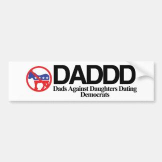 DADDD CAR BUMPER STICKER