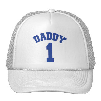 DADDY 1 - For Number One Daddy Mesh Hat